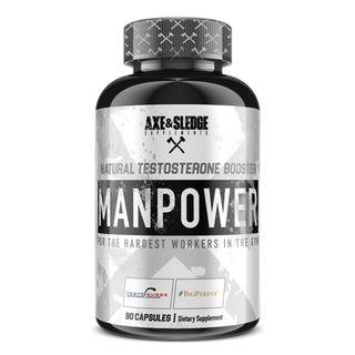 bester Sex booster 2019 Axe & Sledge Supplements Manpower