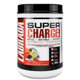 Bester Booster ohne Stimulanzien 2019 Labrada Nutrition Super Charge